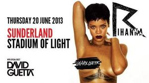 rihanna stadium of light 2013