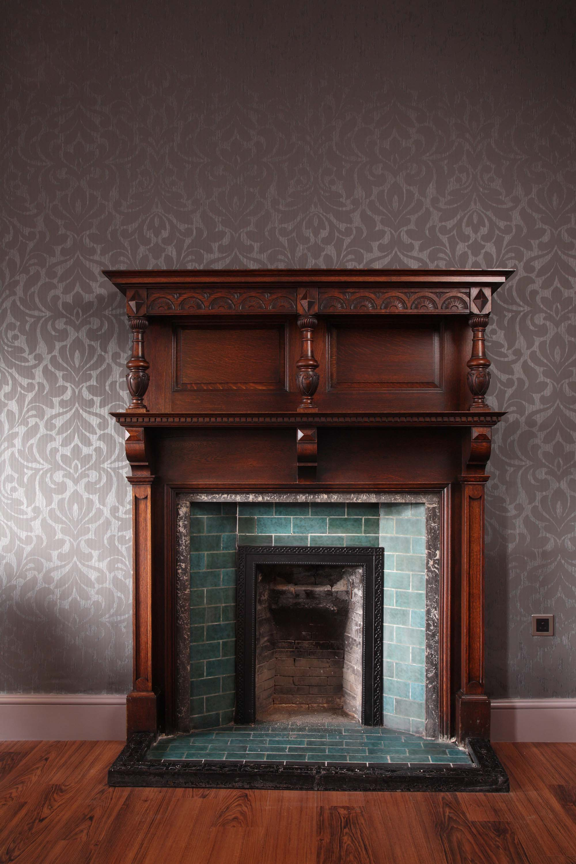 Original fire place