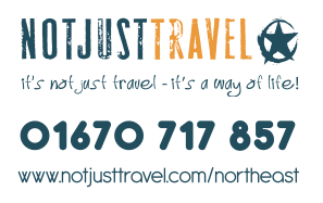 Not just travel north east