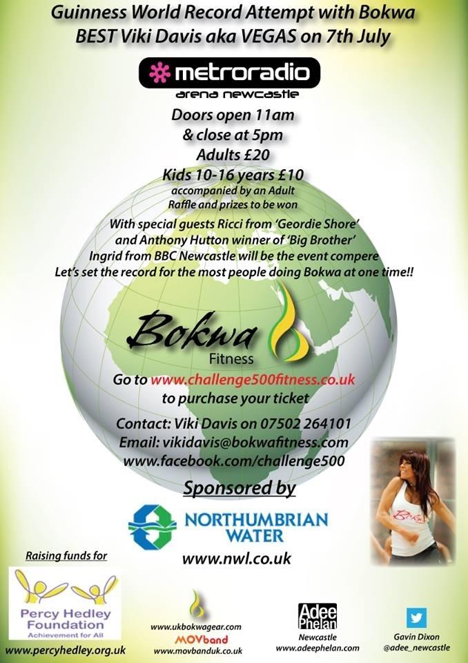 newcastle bokwa event