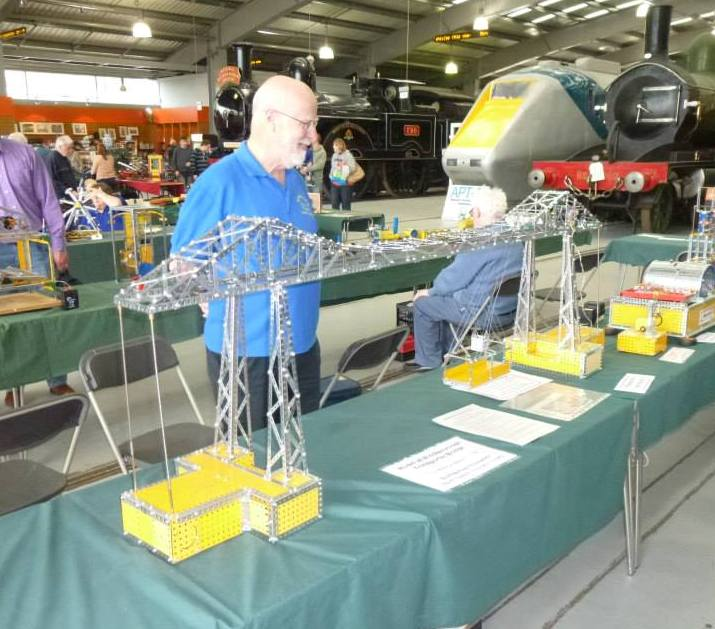 Transpsorter Meccano exhibition