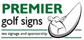 premier golf signs