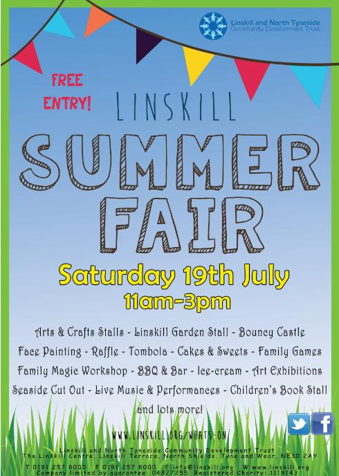 linskill centre summer fair north shields
