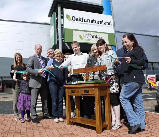 gateshead autism group oak furniture land