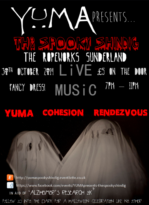 Spooky shindig the ropery sunderland