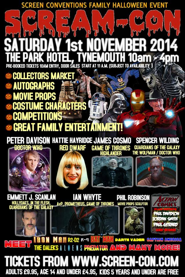 scream con scifi event tynemouth-2014