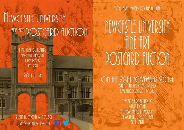 newcastle-university-fine-art-postcard-auction-2014