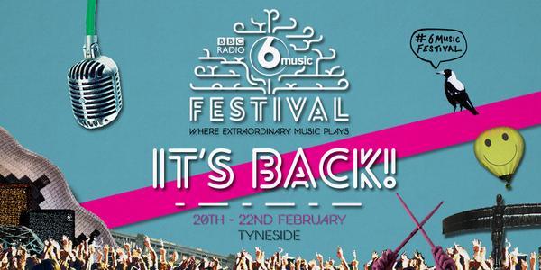 6 music festival 2015 line up