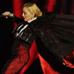 Madonna falls brit awards