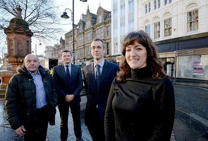 newcastle bigg market funding refurbishment