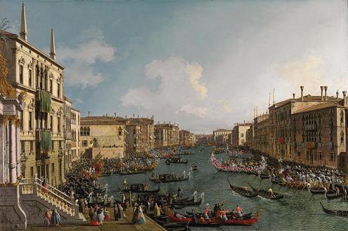Regatta-on-the-Grand-canal