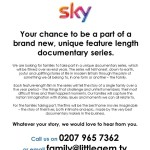 Sky-family-recruiting-families-new-series