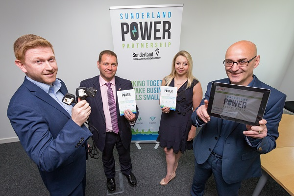 Sunderland BID Power Partnership Picture: DAVID WOOD